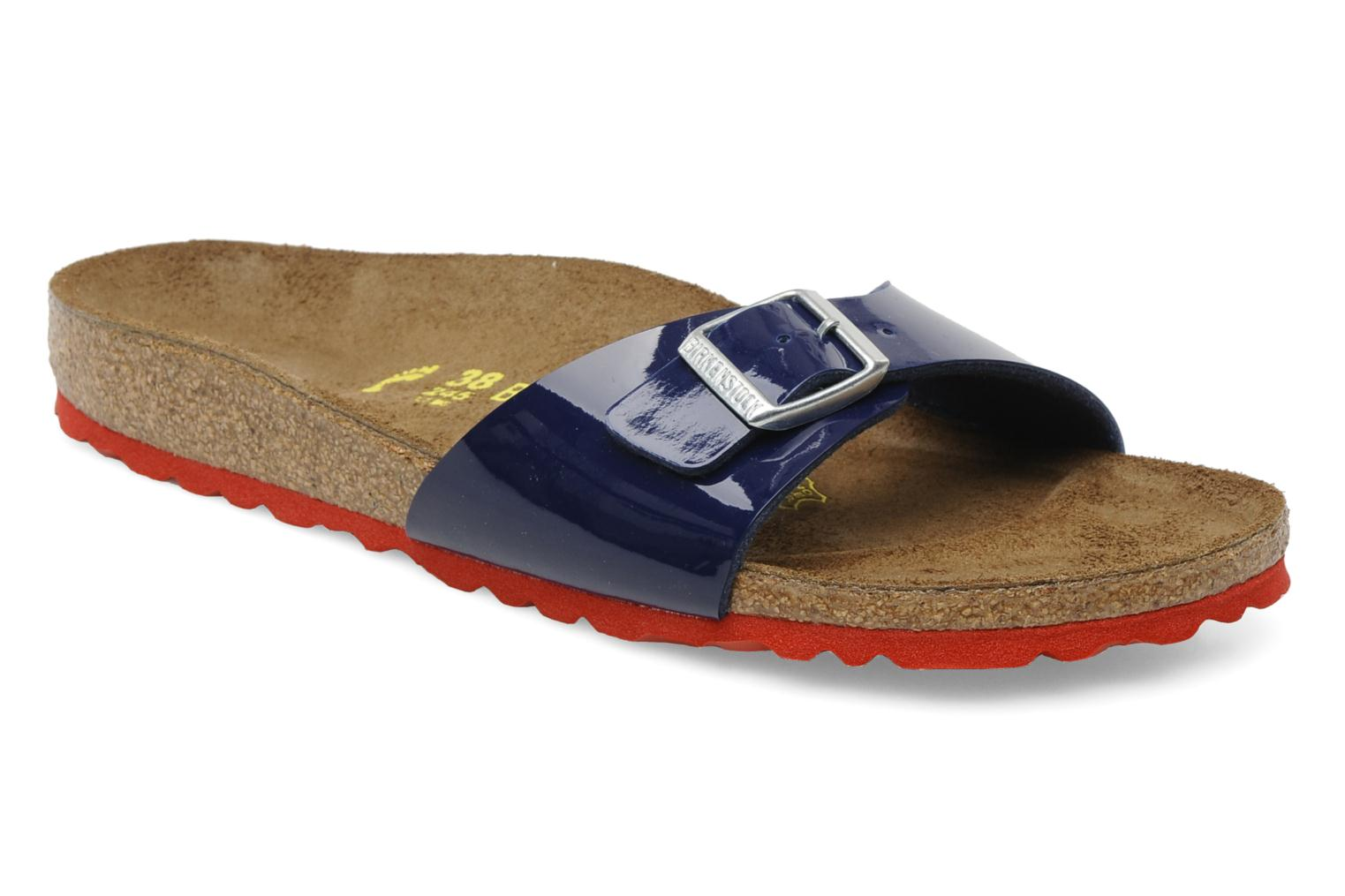 Wedges Birkenstock Madrid Flor W Blauw detail